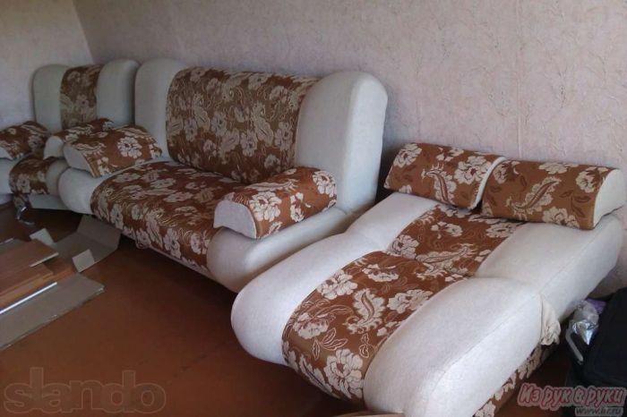 продам мягкий уголок трансформер диван 2 кресла купить цена